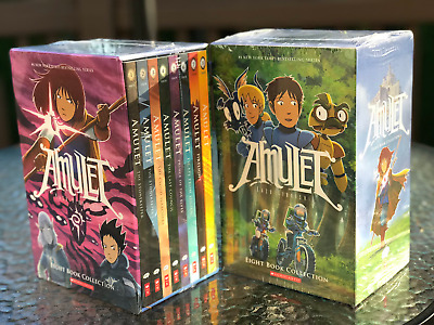Amulet Series #1 - 8 BOXED SET - BRAND NEW - SEALED
