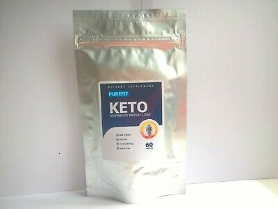 PUREFIT KETO ADVANCED WEIGHT LOSS (60 Capsules) NEW & SEALED & FAST FREE POSTAGE