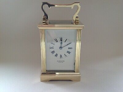 Stunning Vintage Carriage Clock Fully Restored March 2019