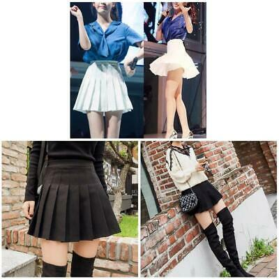 a988194761 Summer Womens Mini Pleated Skirt High Waist School Skater Tennis Shorts  Skirts