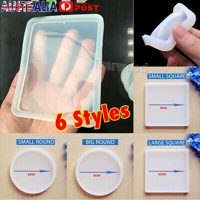 Silicone Mold Making Jewelry DIY Polymer Clay Resin Casting Craft Mould 6 Styles