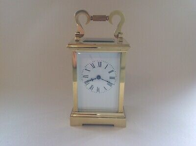 Genuine Antique Miniature French Carriage Clock Fully Restored May 2019