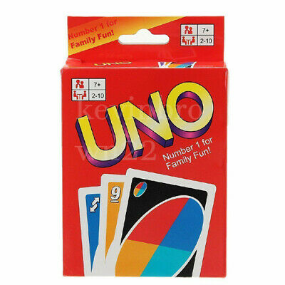 UNO Card Game 108 CARDS Great Family Fun Friend Children Travel Party