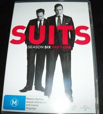 Suits Season Six 6 Part One 1 (Australia Region 4) DVD – Like New