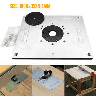 Multi Functional Router Table Insert Plate Ring For