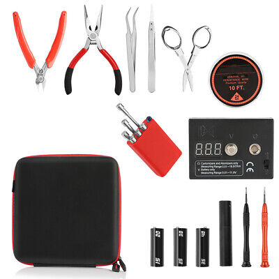 Coil Master DIY V3 Tool Kit Fall Release Latest Ohm Meter Ceramic Tweezer USA