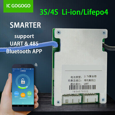 30S LIPO LIFEPO4 Lithium Battery Protection Board Li-ion Smart BMS