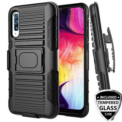 online retailer b530a f881a RUGGED SHOCKPROOF COVER Phone Case & Holster For [Lg K30] +Black ...