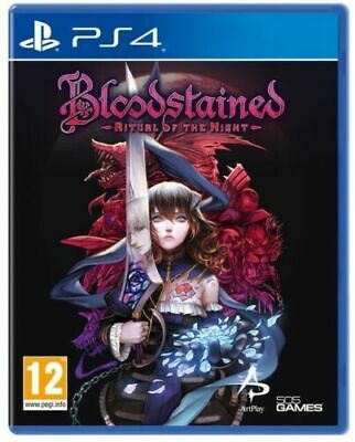 Bloodstained: Ritual Of The Night Ps4 Gioco Eu Italiano Playstation 4 Nuovo