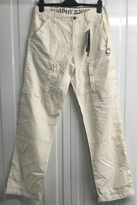 W32 L32 Green BNWT Murphy /& NYE Sailmakers Monroe Canvas Trousers