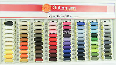 Gutermann Sew All Thread 100 m reels