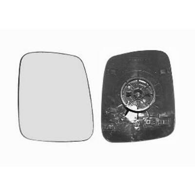 Fits Nissan Kubistar 2003-2009 Heated Aspherical Wing Mirror Glass Drivers Side