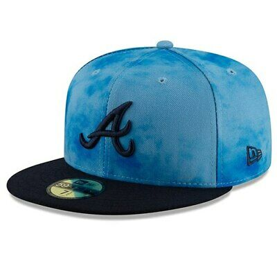 ea5d133fb644fd New Era Atlanta Braves Blue/Navy 2019 Father's Day On-Field 59FIFTY Fitted  Hat
