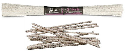 Beamer 12 Inch Hard Bristle - 3 Bundles - Pipe Glass 32 Foot Long Cleaners