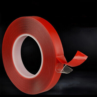 3Mx 2/5/8/10/20 MM Vehicle Double Sided Sticker Car Adhesive Acrylic Foam Tape
