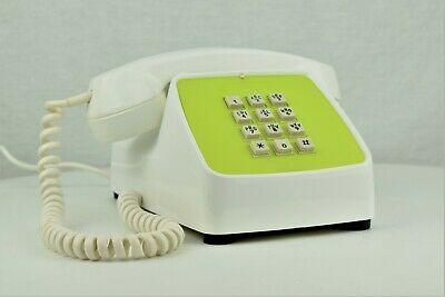 Meticulously Restored AUTOMATIC ELECTRIC TYPE 80 - WHITE / GREEN - TOUCH - 24979