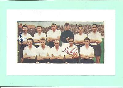 Football Autograph Peter Sampson + 1 other Bristol Rovers Magazine Picture F1272