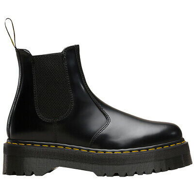 Dr.Martens 2976 Quad Leather Womens Mens Slip-On Ankle Unisex Boots