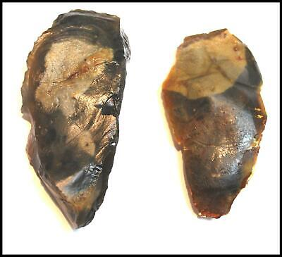 Mousterian paleolithic scraper pick point arrowhead spearhead weapon british