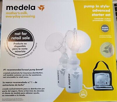 NEW IN BOX - Medela breast pump In Style Advanced Double Starter Set