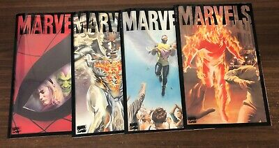 MARVELS (1994) -- #1 2 3 4 -- FULL Series -- Alex Ross -- High Grade
