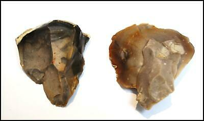 STONE AGE paleolithic mousterian scrapers points British neanderthal tools UK