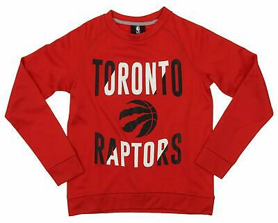 Outerstuff NBA Youth/Kid Toronto Raptors Performance Fleece Crew Neck Sweatshirt