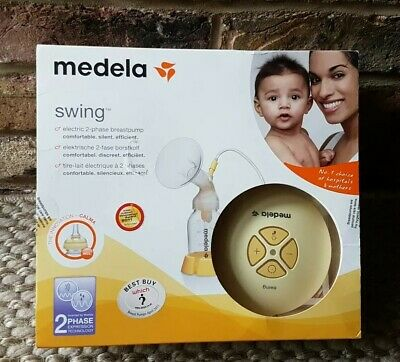 Medela Swing Single 2-Phase Electric Breast Pump with Calma Teat