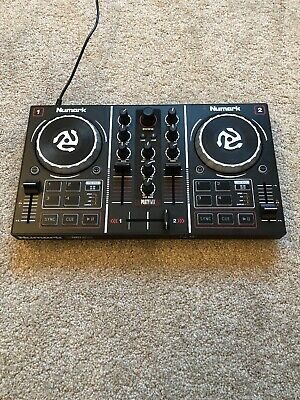 Numark Party Mix USB 2 Channel DJ Controller with Built-in Light Show