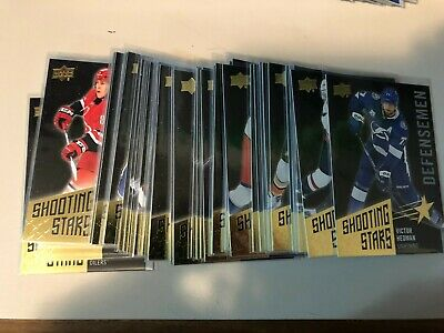 2018-19 Upper Deck UD SHOOTING STARS BLACK - pick / finish / complete your set