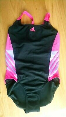 d7deb3f828 BNWT ~ Adidas Infinitex 3 Stripe Swimsuit Ladies Swimming Costume UK 40