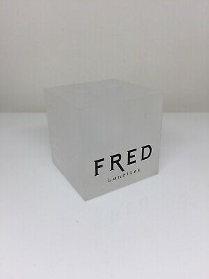 Fred Lunettes Paris Display Logo Piece Rare Vintage Fred Lunettes Logo Display