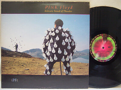 PINK FLOYD - Delicate Sound of Thunder LP (RARE 1988 UK Import on EMI w/Inners)