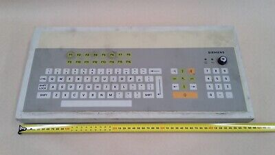 Siemens 6Av9020 1Db00 Membrane Keyboard Large Version Manufacturer Refurb