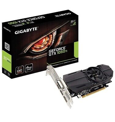 GIGABYTE NVIDIA GeForce GTX 1050 TI 4GB Low Profile GV-N105TOC-4GL Video Card