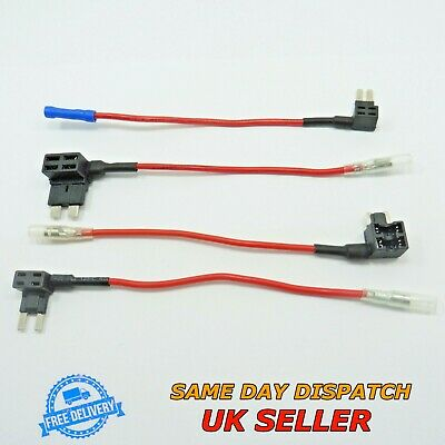 12V Add A Circuit Blade Fuse Holder Cable Piggy Back Tap ATM ATP Car Fusebox