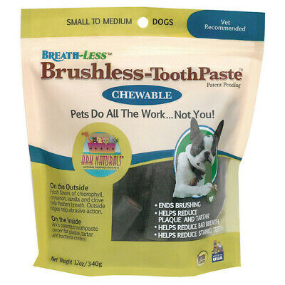 Ark Naturals Small to Medium Dogs Brushless Toothpaste 12 oz.221861 OC