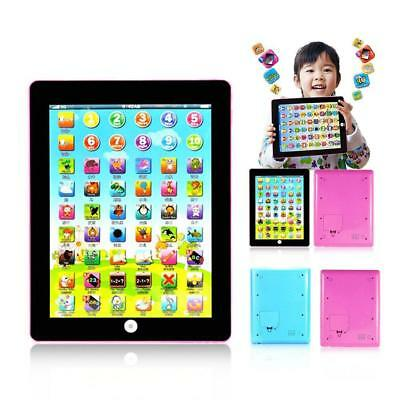 Kids Learning English Tablet Teach Pad Educational Toy Fun Gift For Girl/Boy RNU