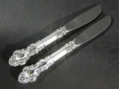 """Silver Wheat by Reed /& Barton Sterling Silver Butter Spreader 5 7//8/"""" HH New"""