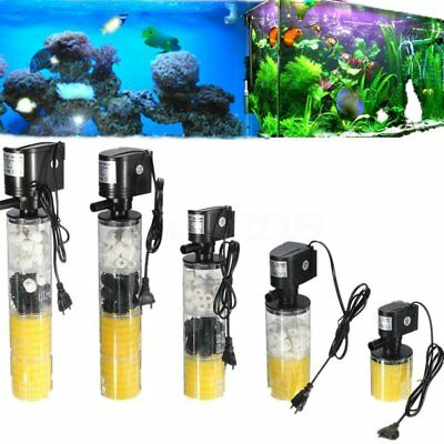 1000-3500L/H Submersible Water Internal Filter Pump For Aquarium Fish Tank po