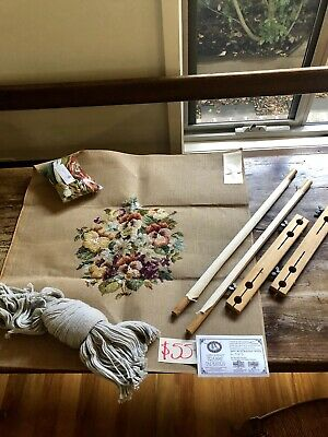 Floral Symphony Tramme Tapestry - Vintage Kit Untouched!!! Recommend Retail $150