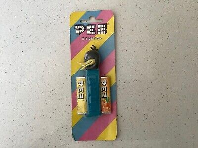 Vintage PEZ Candy Daffy Duck Dispenser in Original Package Unopened with Candy
