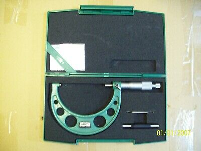 Insize Outside Micrometer 75-100mm 0.01mm code:3203-100A