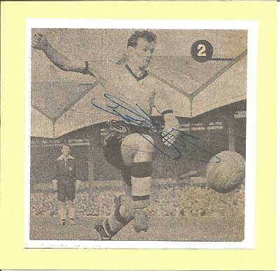 Football Autograph Jimmy Murray Wolves FC Signed Newspaper Photograph F1289