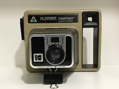 Vintage Kodak Pleaser Trimprint Instant Camera