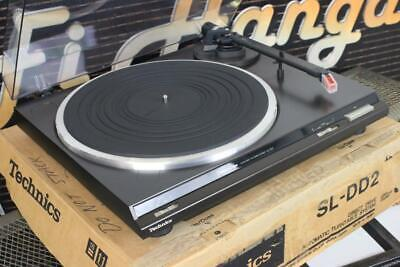 TECHNICS DD2 Direct Drive Vintage Turntable TURNTABLE BOXED GWO VGC