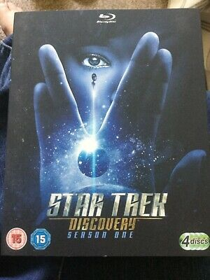 Star Trek Discovery, Season 1 Blu-Ray.