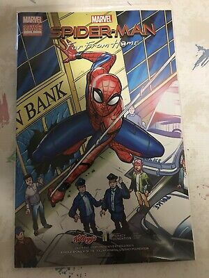 Spiderman Far From Home Dollar General Exclusive Comic Book Spider-Man Kellogg