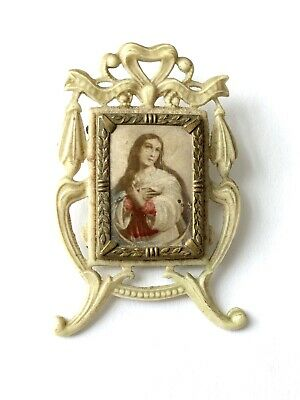 Vintage Religious Pendant By Barrows Gold Filled Ornate And Beautiful