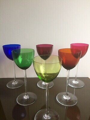 Set Of 6 Baccarat PERFECTION Wine Glasses